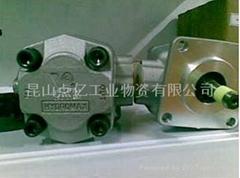 台湾HYDROMAX双联齿轮泵HGP-22A