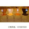 深圳直銷魚尾曲木餐椅   3