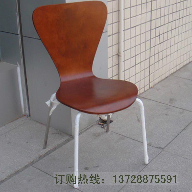 深圳直銷魚尾曲木餐椅   5