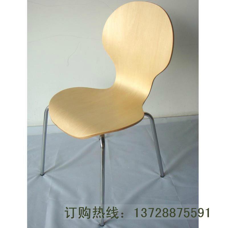 圓背細腰曲木餐椅   1