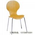 圓背細腰曲木餐椅   2