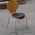 圓背細腰曲木餐椅   3