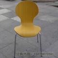 圓背細腰曲木餐椅   4