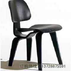 全曲木材質休閑餐椅