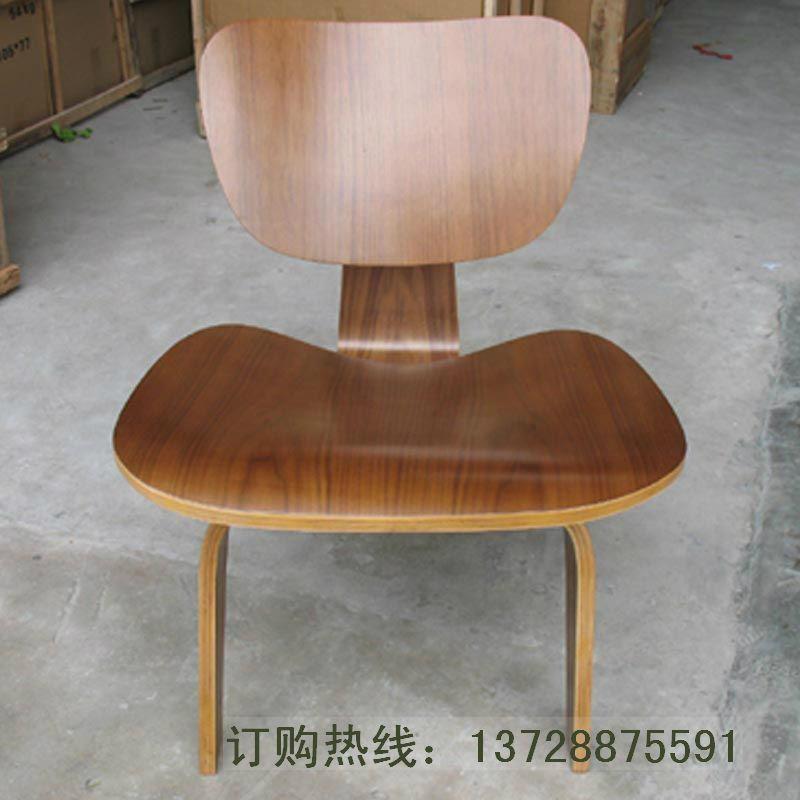全曲木材质休闲餐椅 2