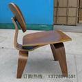 全曲木材质休闲餐椅 4