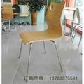 肯德基同款曲木餐椅 5
