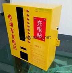 小區物業定製型電瓶車充電站10路輸出