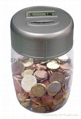 Bank Digital Coin Counting Money Jar