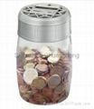 coin bank saving bank piggy bankcounting