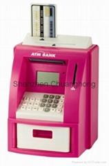 ATM COIN BANK piggy bank coin counter bank for bank
