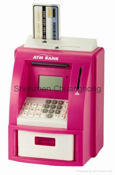 Piggy coin bank Mini ATM coin bank, coin counter jar, money jar 2