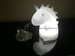 kids and gifts unicorn night light soft LED unicorn light