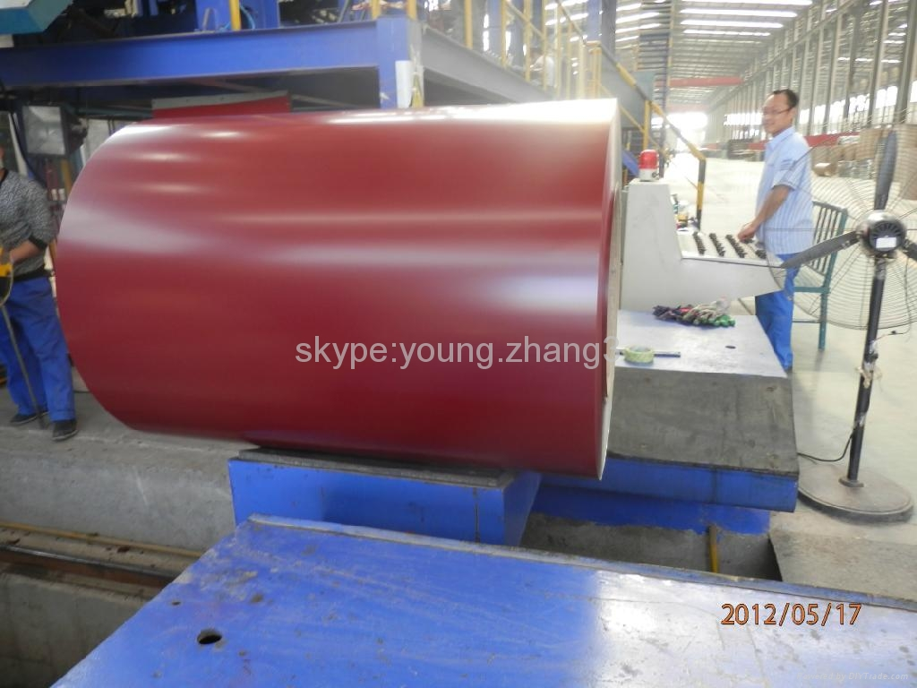 Prepainted galvanized iron 3