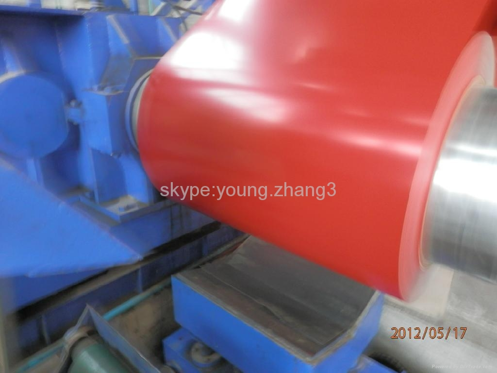 Prepainted galvanized iron 5
