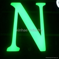 High bright epoxy resin LED channel letter sign