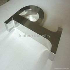 Stainless Steel Channel Letter Signs