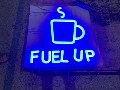 LED Neon signs made by a