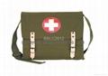 Olive Drab - German Red Cross Medic Shoulder Bag