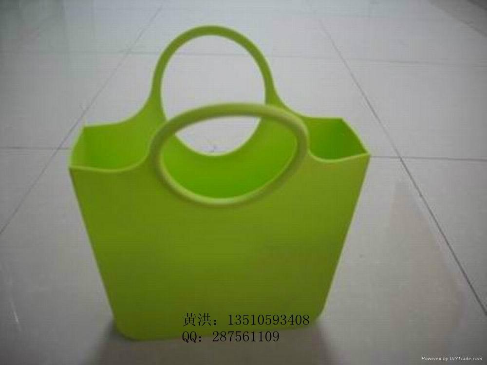 硅胶环保手提袋 1