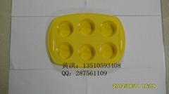 硅膠六孔蛋糕模