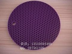 硅胶蜂窝餐具隔热垫