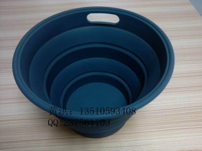 硅膠折疊桶 2