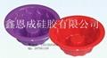 硅膠六孔蛋糕模 4