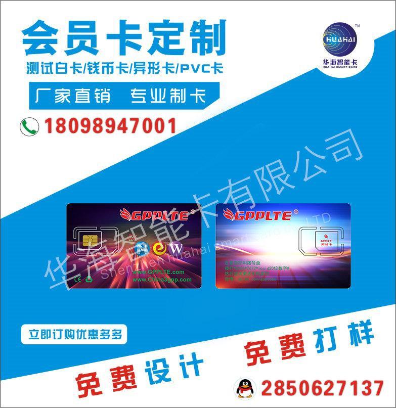 华海可编辑ICCIDiPhone7/6P/6S/5S/XR/8 X激活卡 2