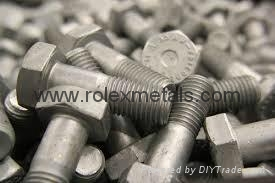 Heavy Hex Structural A325 A490 Bolts A563 Nuts 1