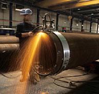 ASTM A671 Grade CC60/CC65/CC70 EFW Pipes 1