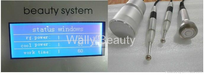 Radio frequency skin lifting beauty equipment remove wrinkles 5
