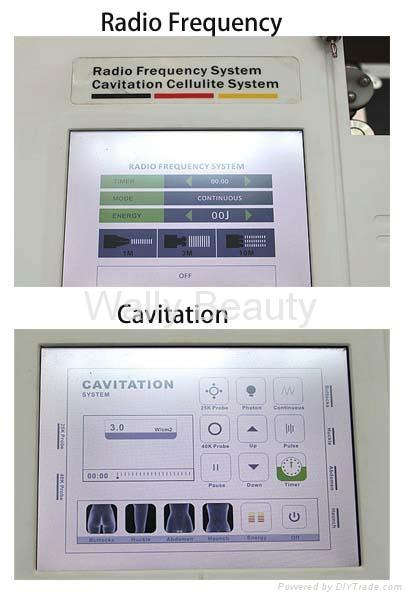 Cavitation slimming & RF skin lifting beauty equipment 5
