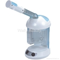 Portable ozone facial steamer vapor