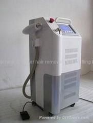 2 IN 1 YAG laser system for tattoo removal+skin rejuvenation