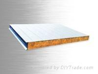 中捷彩钢岩棉复合板
