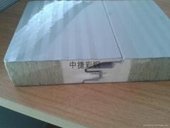 新型岩棉彩钢夹芯板