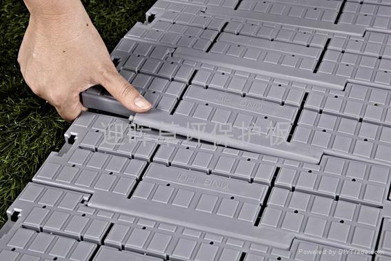 可卷式拼装压草板 3