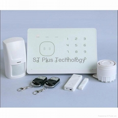 Hot Selling Wireless GSM Home Security Alarm System