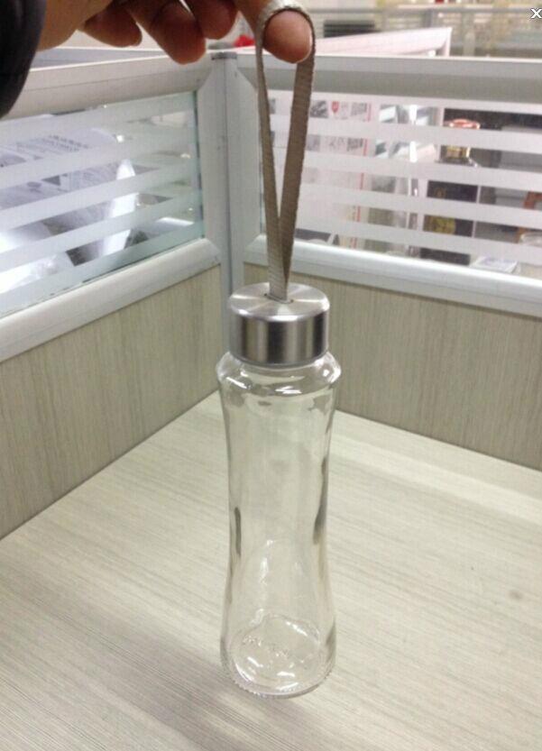 300ml新款收腰玻璃水杯 3