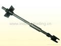 Prestressed hollow bar anchor bolt for
