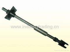 Prestressed hollow grouting anchor