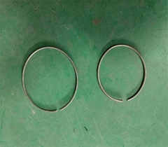 Wire hoop for micropile tube of civil and geotechnical engineering