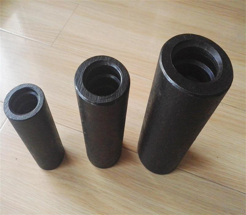 Coupler, nut and plate for post-tensioning bar 6