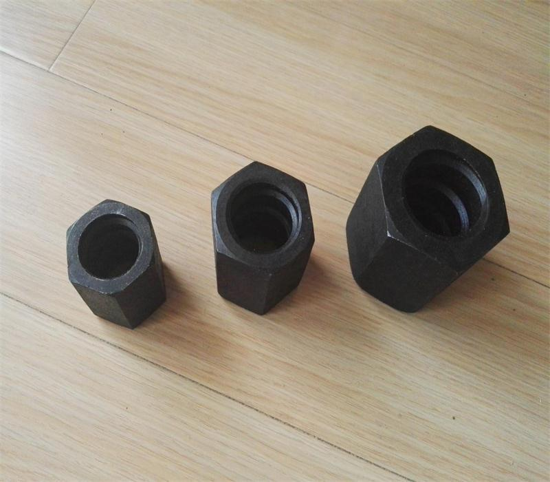 Nut, coupler and plate for prestressing screw bars/post tensioning bars  7