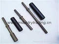 Hollow bar anchor bolt for geotechnical engineering