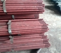 Blast furnace tapping hole drill rod 2