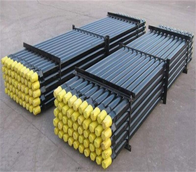 Blast furnace tapping hole drill rod 6