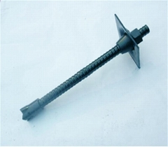 Self drilling anchor bolt R25 for geotechnical, tunnelling engineering usage