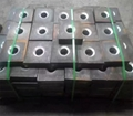 Solid threaded bar/post tensioning bar Dia50mm, PSB830 for railway construction